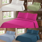 Nena 2 Piece Bed Bedspread Soft TWIN Quilt Coverlet Solid Stippling Stitch Set image