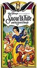 Disney's Master Piece Snow White and the Seven Dwafts VHS 1994