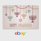 eBay Digital Gift Card -  Happy Hanukkah - Email Delivery <br/> US Only. May take 4 hours for verification to deliver.