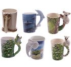 Animal Theme Novelty Design Mugs, Ceramic Tea or Coffee Cups, Gift Boxed, New