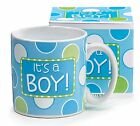 BABY BIRTH ANNOUNCEMENT MUG, Ceramic, It's A Boy or Girl, Choose Your Style