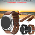 Replacement Soft Leather Watch Strap Band for Samsung Gear S3 Classic Frontier