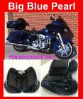 Big Blue Pearl Lower Vented Fairing fit Harley 2014-17 Road Street Electra Glide