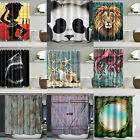 71x59 Inch 3D Printed Shower Curtain Bathroom Waterproof Fab