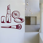 Make Up Beauty Girls Salon Wall Art Stickers Decals Vinyl Decor Room Home