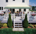 SunSetter Manual Retractable Awning, 12x9 ft. 900XT Model Outdoor Deck & Patio