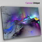 AB1209 blue dark modern large Abstract Canvas Wall Art Framed Picture Print