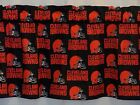 "Cleveland Browns NFL Valance Curtains/Panels Choose: 40"", 52"", 80"" x 13"" L $22.0 USD on eBay"