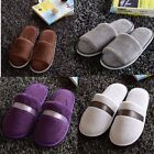 Women Men Plush Winter Warm Slipper Home House Floor Indoor Hotel Fleece Shoes