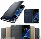 Luxury Samsung Galaxy S7 Edge & S7 Leather Flip Case Cover Wallet Card Holder