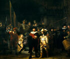 Classic Baroque Dutch Masterpiece Art Print: The Nightwatch by Rembrandt