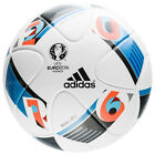 adidas Euro 2016 Offcial Match Soccer Ball White/Bright Blue AC5415