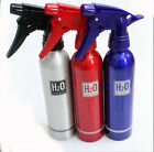 Empty Aluminum Spray Bottle For Hair Salon Or Home Use Three Colors
