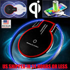 Qi Fast Charger Charging Pad Clear Wireless  for Samsung Galaxy S8/S8 Plus S7 S6