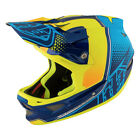 Troy Lee Designs D3 Composite Mountain Bike Helmet - Starburst Yellow/ All Sizes