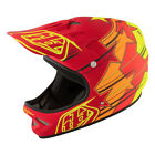 Troy Lee Designs D2 Full-Face BMX Mountain Bike Helmet -FUSION RED - XL/2XL