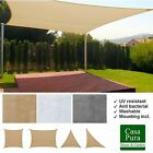 Sun Sail Shade Canopy Garden Sun Awing Cover UV Screen Patio Sunscreen Large