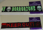 Fright Tape NEW Horror Skulls Keep Out 50 Ft Halloween Decoration Banner