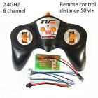 2.4G Transmitter & Receiver 4/6 Channel Remote Controller Distance 50m/100m Boat