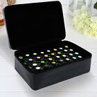 40 Bottles Essential Oil Carrying Case Oil carrying Container Zipper Hard Shell