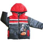 Cars 95 Mcqueen kids boys winter coat hoodie warm coat jacket outfit size 2-6