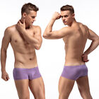 CLEVER-MENMODE Mens Low-rise Boxer Briefs Sexy U Pouch Shorts Trunks Underwear