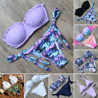 RXRXCOCO Women Bandage Bikini Push-up Padded Swimwear Beach Swimsuit Beachwear