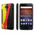 Huawei Ascend XT [AT&T GoPhone H1611] Dual Armor ShockProof Case  Design [G]