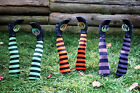 Halloween Decor Witch Legs Yard Stakes Orange Green Purple Fall Festive Classic