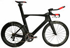 STRADALLI AERO CARBON FIBER WHEELS TRIATHLON TRI BIKE BICYCLE SHIMANO Di2 6870