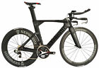 STRADALLI CARBON AERO WHEELSET TRIATHLON TT TRI BICYCLE ETAP SRAM RED E-TAP BIKE