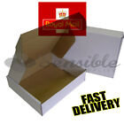 WHITE ROYAL MAIL MAXIMUM SIZE SMALL PARCEL POSTAL CARDBOARD BOXES 440x349x79mm