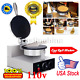 Commercial Electric Stainless Steel Ice Cream Egg Waffle Cone Maker Machine 110V cheap