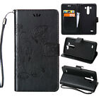 Luxury Slim Leather Folio Stand Wallet Stand Shockproof Case Cover For LG Phones