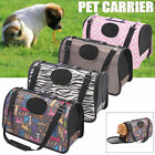 M Size Pet Dog Cat Carrier bag Soft Crate Travel Carry Cage Portable Foldable AU