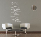 FAMILY - QUOTE - HOME - LOVE - WALL ART VINYL - DECAL - DECOR