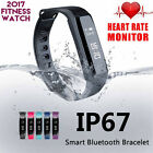 Waterproof Smart Sport Watch Bracelet OLED Fitness Tracker Heart Rate Monitor