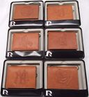 MLB Embossed Trifold Leather Wallet With Gift Box -Select- Team Below on Ebay