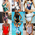 MOOSKINI Womens One-piece Swimsuit Swimwear Push Up Monokini Bathing Suit Bikini