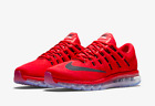 NEW MENS NIKE AIR MAX 2016 Running Shoe 806771 601 University Red/Black-Gym Red