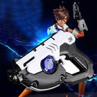 Overwatch Tracer Guns OW Hero Cosplay Prop Original ABS Plastic give out light
