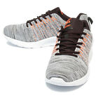 Epicsnob Mens Lace Up Lightweight Fabric Trail Running Casual Athletic Sneakers