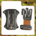 1pcs Archery Protect Glove + 1pcs  Arm protector Guard high quantity Leather new