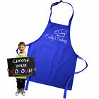 Personalised Kids Childrens Chefs Cooking Apron by Inspired Creative Design