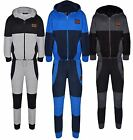 New Kids Hooded Deluxe Edition Comfortable Corduroy Panel Sports Tracksuit