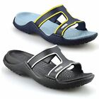 Ladies Womens New Crocs Wedge Heel Slip On Summer Beach Mules Sandals Shoes Size