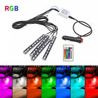 LED RGB Car Interior Atmosphere Light Footwell Cigarette Lighter Decor Lamp