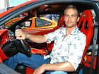 00628 PAUL WALKER FAST AND FURIOUS CAR MOVIE IMAGE Poster Print