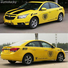 Car Modified Transformers 911 Whole Body Stickers Decoration Decals