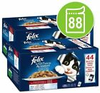 Felix As Good As It Looks Cat Food Pouches Meat Fish & Jelly Mega Pack 88 x 100g